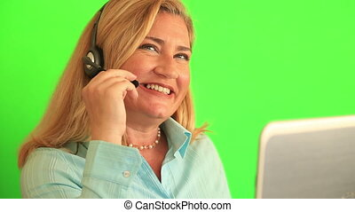 Customer service and call centre operator - Support phone...