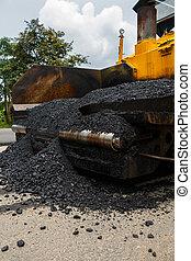 spreader, asfalto