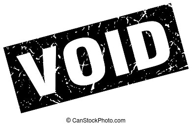 square grunge black void stamp