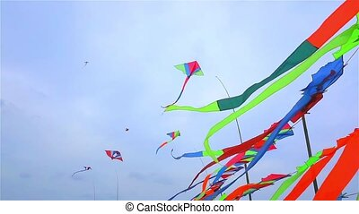 Kite shop in Thailand
