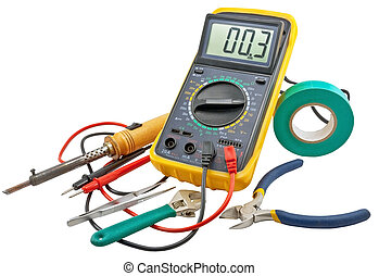 Electricians tools - Tools for home electrical repair