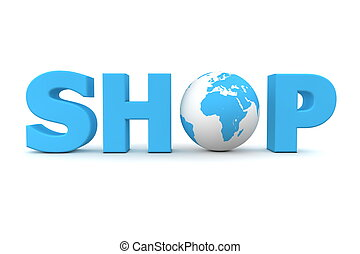 Shop World Blue