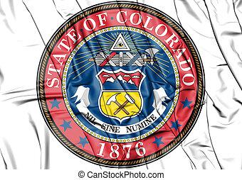 State Seal of Colorado, USA.
