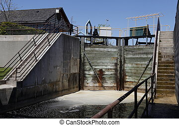 Canal Locks - Canal locks in Port Severyn, Ontario