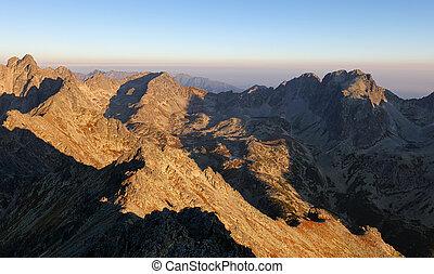 Tatras, Slovakia landscape