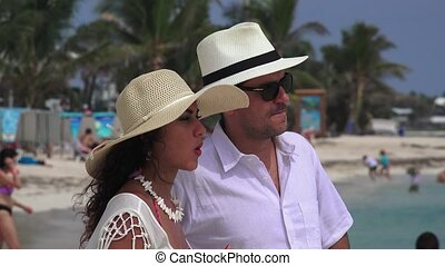 Married Couple Husband Wife Vacation