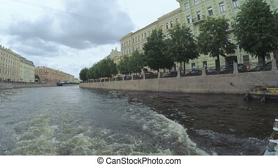 Crossroads channels in St. Petersburg