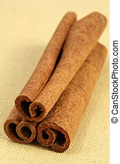 baking and cooking ingredient - fancy cinnamon sticks...