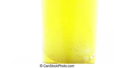 Coloring Easter eggs - In the coloring liquid, chicken eggs...
