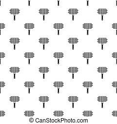 BBQ grill pattern vector
