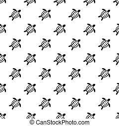 Flounder pattern vector - Flounder pattern seamless in...