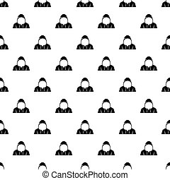 Brick in a hand pattern vector - Brick in a hand pattern...