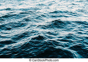 Ocean Waves Abstract Background Texture