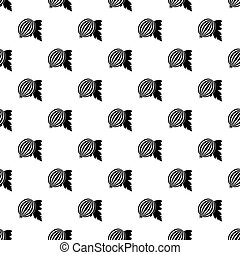 Blueberries pattern vector - Blueberries pattern seamless in...