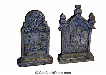 Two Tombstones - RIP
