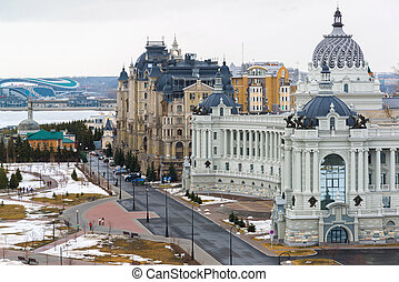 Palace of farmers and residential complex Dvortsovaya...
