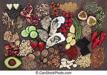 Aphrodisiac Health Food Selection - Aphrodisiac health food...