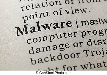 definition of Malware - Fake Dictionary, Dictionary...