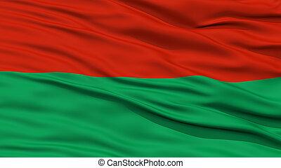 Closeup Lapaz City Flag, Bolivia - Closeup Lapaz City Flag,...