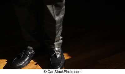 man shoes patent leather shoes formal and festive dressing -...