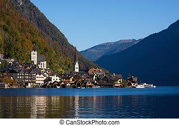 Hallstatt, small town in Alp