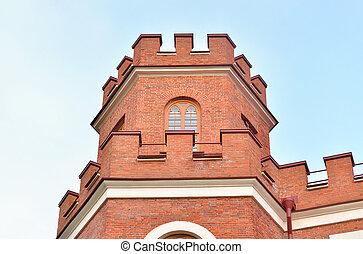 Pavilion Arsenal in Alexandrovsky Park, Tsarskoe Selo. -...