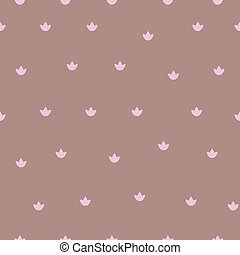 Tiny pink daisies - Seamless pattern with tiny pink daisies....