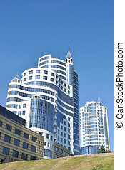 The modern architectural complex - The complex of some...