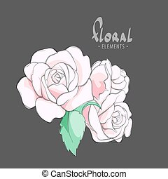 Inflorescence of roses - Flowering roses for your creative...