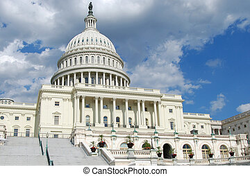 US Capitol in Washington DC - Beautiful view of US Capitol...