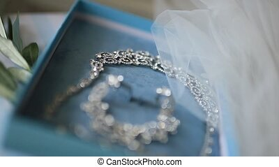 Bride Jewellery. Earrings, necklaces, rings, watches - Bride...