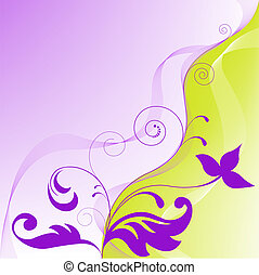 yellow purple abstract background - yellow-violet...