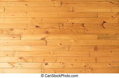Weathered barn wood background with knots and nail