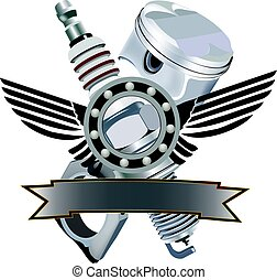 Piston engine adhesives - Piston and spindle motor...