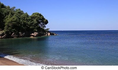 """""""Queen's Beach"""" in the territory of the park Milocer, near..."""