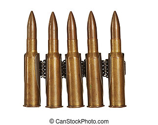 munitions - Detail of the bullets - munitions