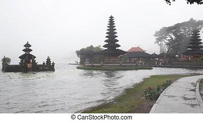 Pura Ulu Danau Temple - Bratan lake, Bali, Indonesia
