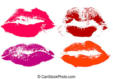 lips, this illustration may be useful as designer work