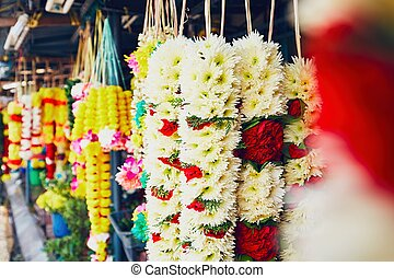 Flower garlands for hindu ceremony - Flower garlands for...