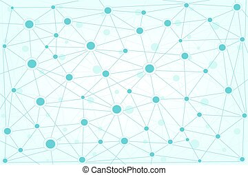 Global network background  Internet networking concept.
