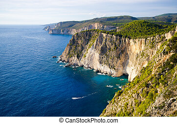 Cliffs of Keri, Zakynthos, Greece - Cliffs of Keri -...