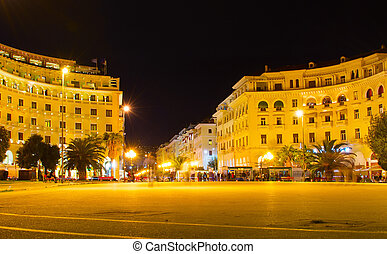 Aristotelous Square. Thessaloniki, Greece - Famous...