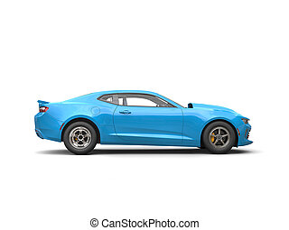 Modern Muscle Car Side View Stock Photos And Images Modern