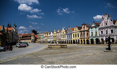 Telc city. A UNESCO World Heritage Site.