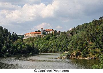 Bitov. Medieval castle in Moravia. Czech republic