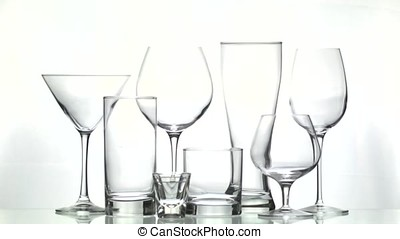 Emprty glassware - This video is about Emprty glassware