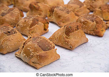 Cypriot Easter cheese pies Flaounes - Traditional Cypriot...