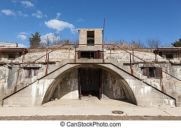 Nine Gun Battery - Architectural details of the Nine Gun...