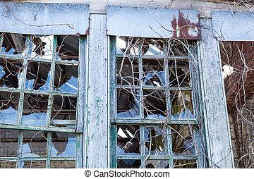 Broken Windows at Sandy Hook