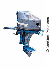 Outboard boat motor Soviet-made